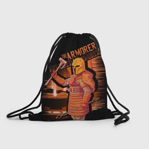 Рюкзак-мешок 3D The Armorer (The Mandalorian) Фото 01