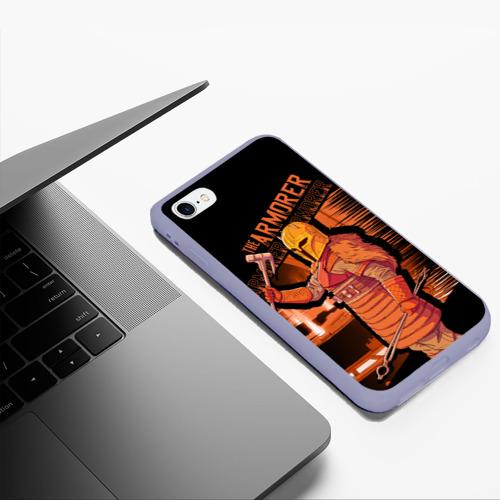 Чехол для iPhone 6/6S Plus матовый The Armorer (The Mandalorian) Фото 01
