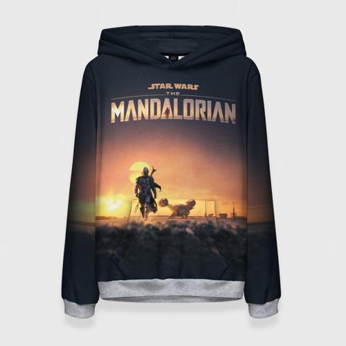 Женская толстовка 3D The Mandalorian Фото 01