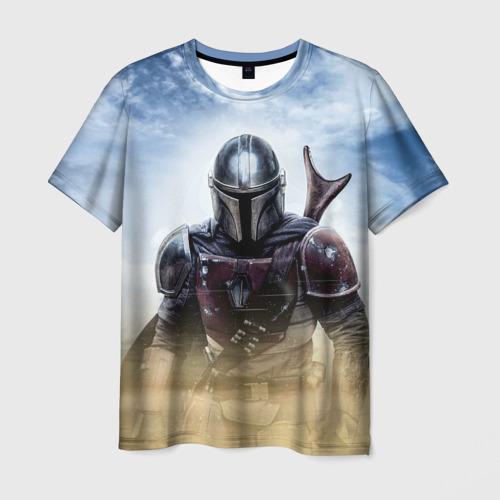 Мужская футболка 3D The Mandalorian Фото 01