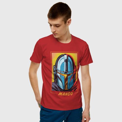 Мужская футболка хлопок The Mandalorian Фото 01
