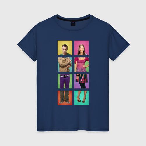 Big Bang Theory collage