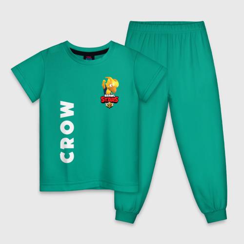 Детская пижама хлопок BRAWL STARS CROW PHOENIX Фото 01