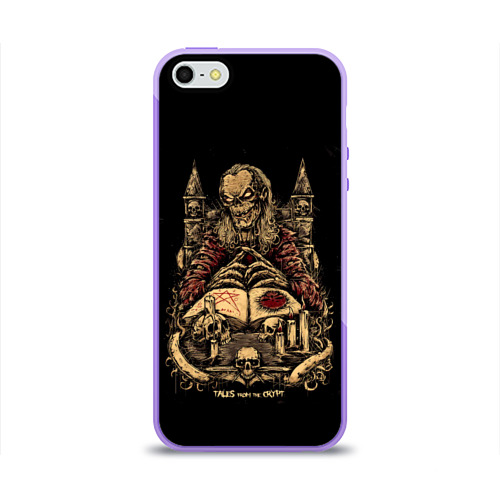 Чехол для iPhone 5/5S глянцевый Tales from the crypt Фото 01