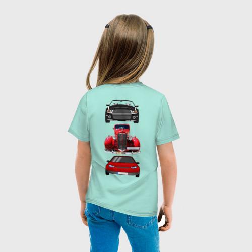 Детская футболка хлопок Автомобили  Фото 01