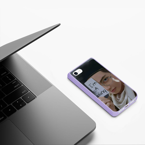 Чехол для iPhone 5/5S матовый BTS Фото 01