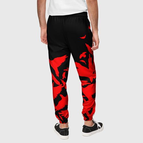 Мужские брюки 3D AKATSUKI | NARUTO Фото 01