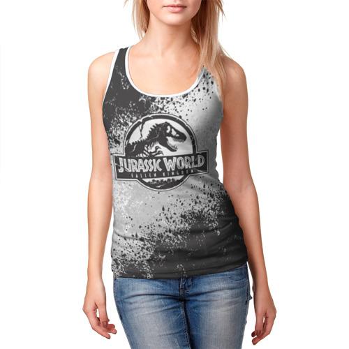 Женская майка 3D Jurassic World   Мир юрского периода (Z) Фото 01