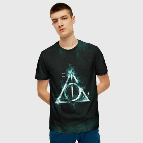 Мужская футболка 3D Гарри Поттер Фото 01