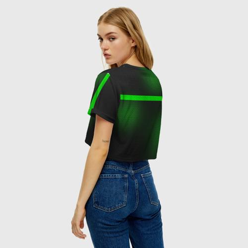 Женская футболка Crop-top 3D Пограничные Войска Фото 01