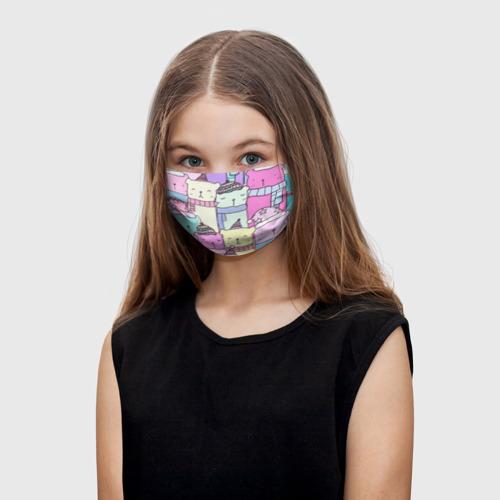 Детская маска (+5 фильтров) Каваи  Фото 01