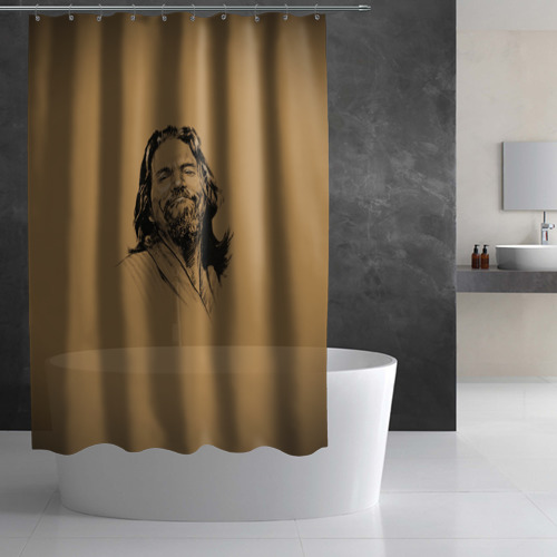 Штора 3D для ванной The Big L Фото 01