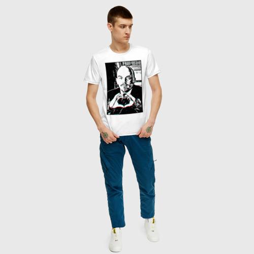 Мужская футболка хлопок Ленин (Oko) Фото 01