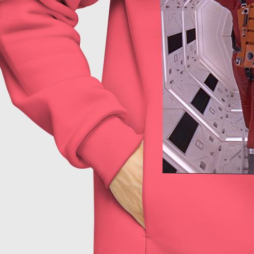 Мужское худи Oversize хлопок Astronaut in a spacesuit Фото 01