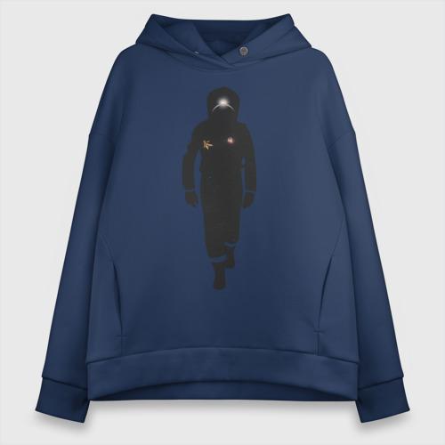 Женское худи Oversize хлопок Astronaut Фото 01
