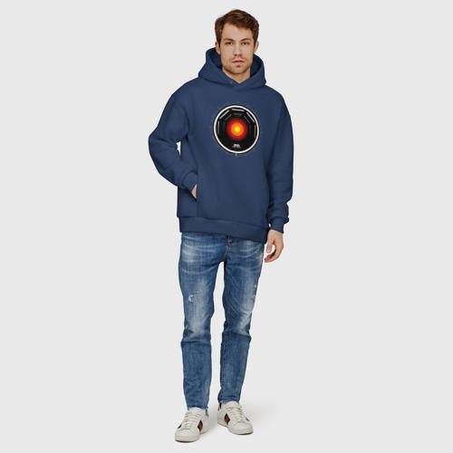 Мужское худи Oversize хлопок HAL 9000 Фото 01
