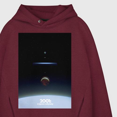 Мужское худи Oversize хлопок 2001: Space Odyssey Фото 01