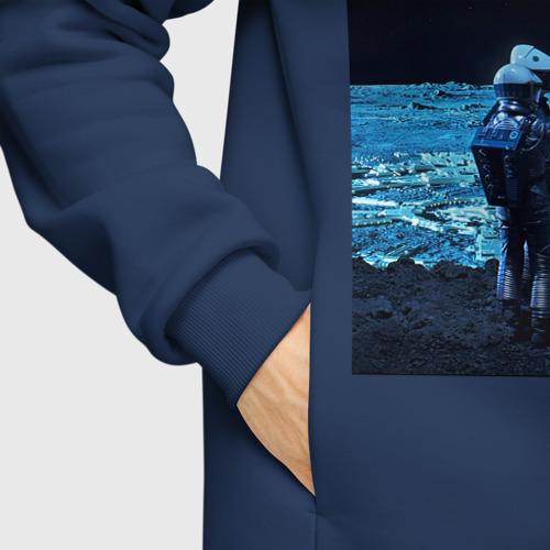 Мужское худи Oversize хлопок 2001: а Space Odyssey Фото 01