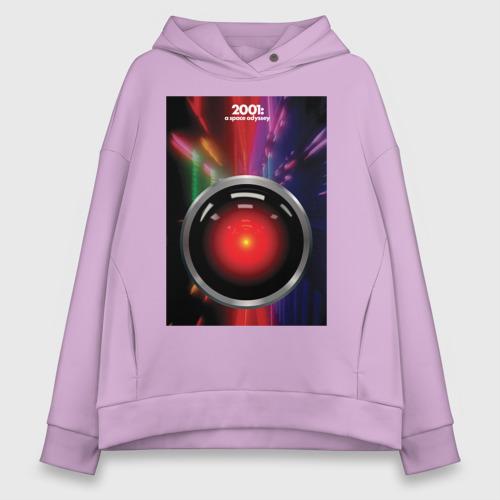 Женское худи Oversize хлопок HAL 9000 Фото 01