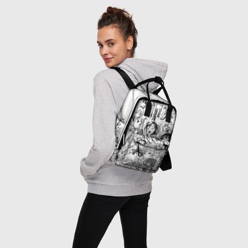 Женский рюкзак 3D AHEGAO Фото 01