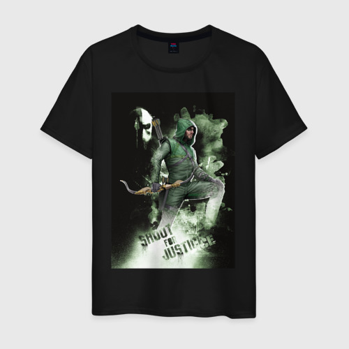 Мужская футболка хлопок Shoot For Justice Фото 01