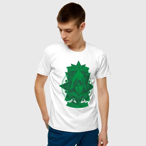 Мужская футболка хлопок Emerald Archer Фото 01