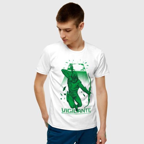 Мужская футболка хлопок Vigilante Фото 01