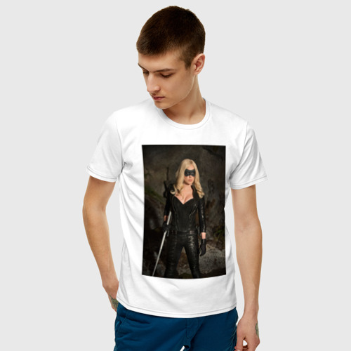 Мужская футболка хлопок The Canary Фото 01