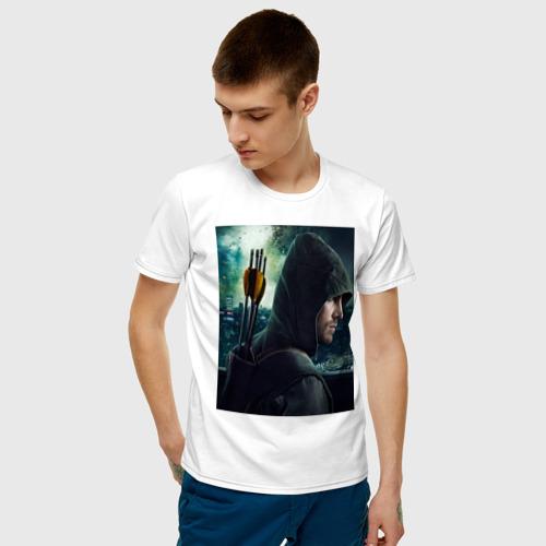 Мужская футболка хлопок Arrow Фото 01