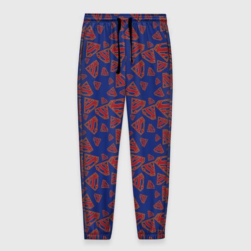 Мужские брюки 3D Supergirl Pattern Фото 01