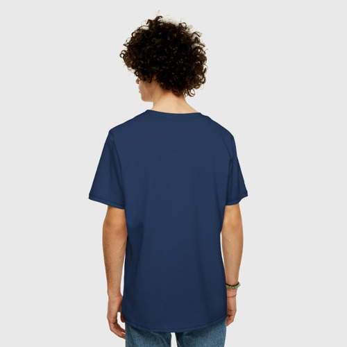 Мужская футболка хлопок Oversize Lightning Gave Me Abs? Фото 01