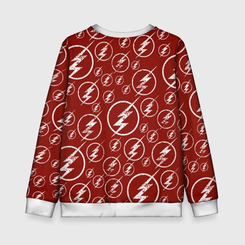 Детский свитшот 3D The Flash Logo Pattern Фото 01