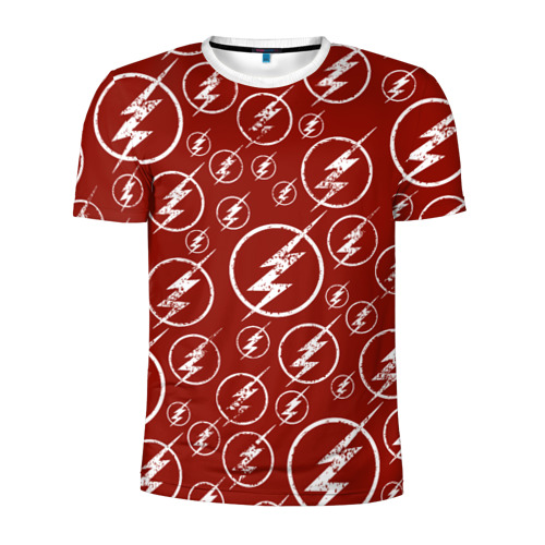 The Flash Logo Pattern