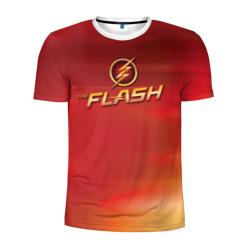 The Flash Logo Pattern
