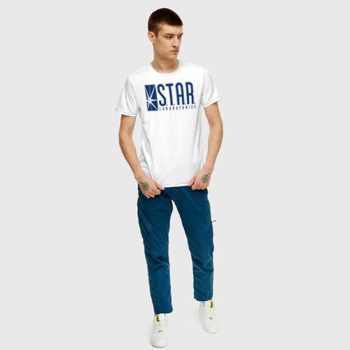 Мужская футболка хлопок S.T.A.R. Labs Фото 01