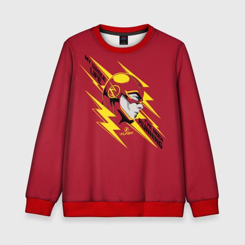 Детский свитшот 3D The Flash Фото 01