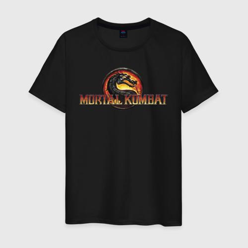 Мужская футболка хлопок Mortal Kombat Фото 01