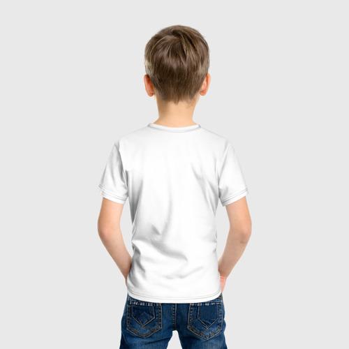 Детская футболка хлопок Усы, лапы и хвост - вот мои документы! Фото 01