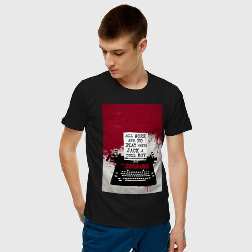Мужская футболка хлопок The Shining Typewriter Фото 01