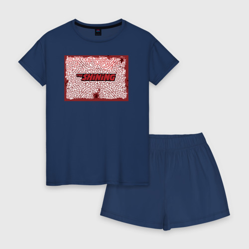 Женская пижама с шортиками хлопок The Shining Фото 01