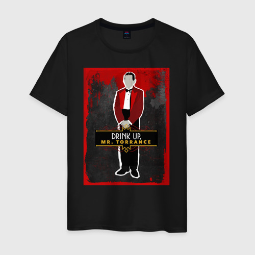 Мужская футболка хлопок Drink Up Mr. Torrance Фото 01