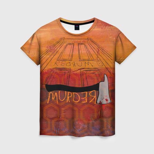 Женская футболка 3D Murder Фото 01