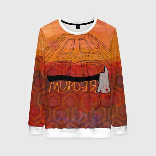 Женский свитшот 3D Murder Фото 01