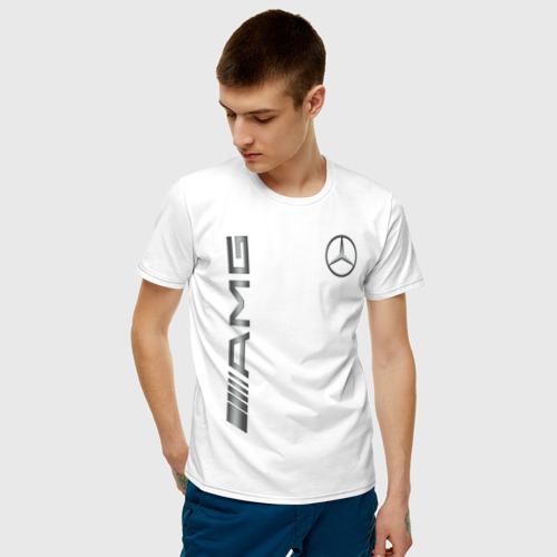 Мужская футболка хлопок MERCEDES-BENZ AMG | МЕРСЕДЕС Фото 01
