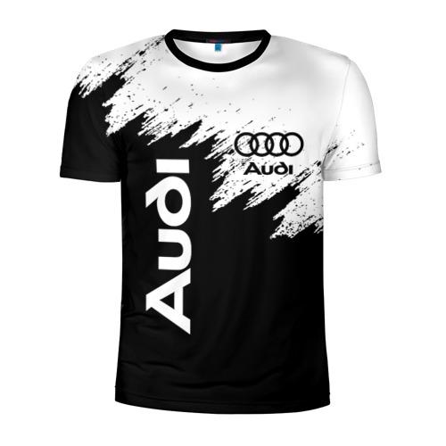 Мужская футболка 3D спортивная AUDI Фото 01