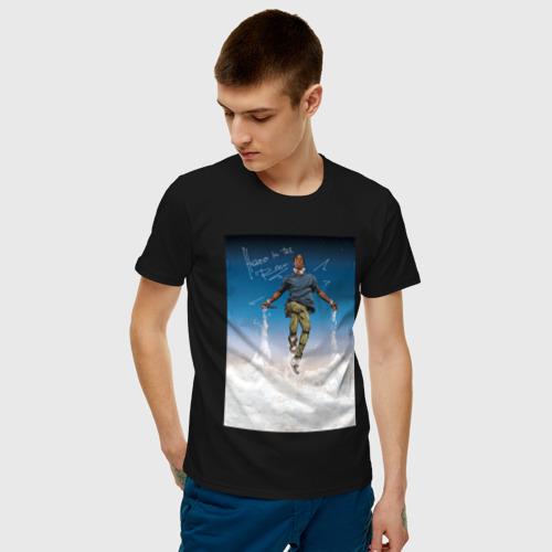 Мужская футболка хлопок TRAVIS SCOTT  Фото 01