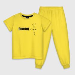 FORTNITE X TRAVIS SCOTT