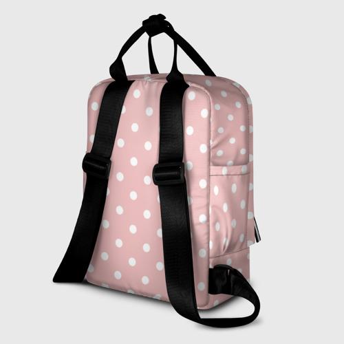 Женский рюкзак 3D мелкий горох  Фото 01