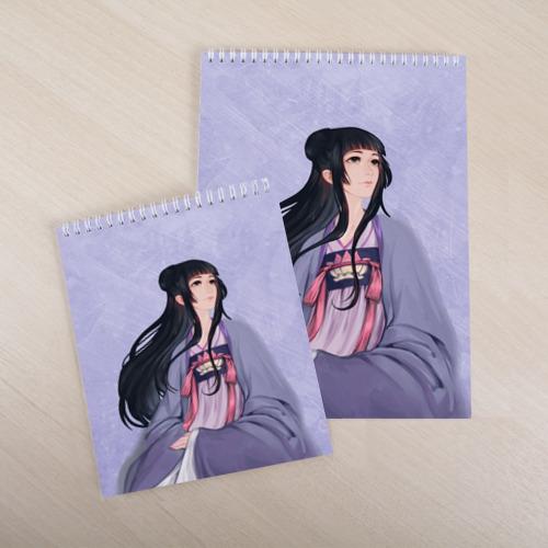 Скетчбук Цзян Яньли Фото 01