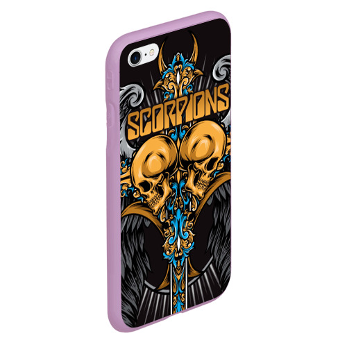 Чехол для iPhone 6Plus/6S Plus матовый Scorpions Фото 01